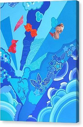 Blue That Surrounds Me Canvas Print by Takayuki  Shimada