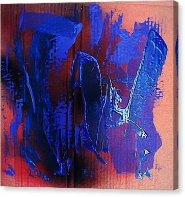 Blue Tornado Canvas Print by Bruce Combs - REACH BEYOND