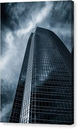 Canvas Print - Blue Tower by James Barber