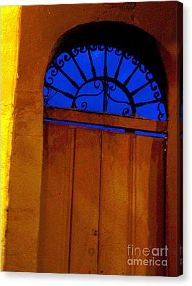 Blue Twilight By Michael Fitzpatrick Canvas Print by Mexicolors Art Photography