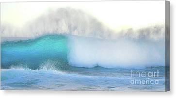 Canvas Print - Blue Wave by Kristine Merc