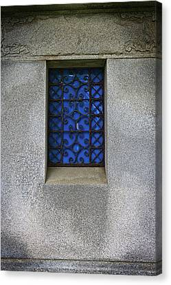 Blue Window Canvas Print by Bud Simpson