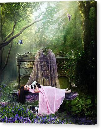 Bluebell Dreams Canvas Print
