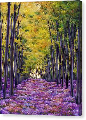 Canvas Print - Bluebell Expanse by Johnathan Harris