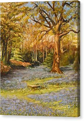 Bluebells Canvas Print by Beatrice Cloake