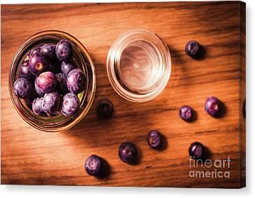 Blueberry Kitchen Still Life Canvas Print by Jorgo Photography - Wall Art Gallery