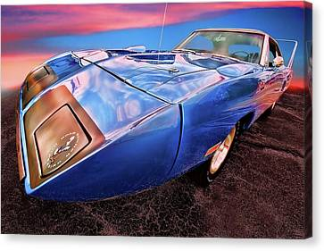 Bluebird - 1970 Plymouth Road Runner Superbird Canvas Print by Gordon Dean II