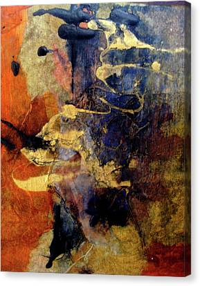 Bluegold 4 Canvas Print