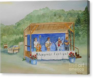 Bluegrass Festival Canvas Print