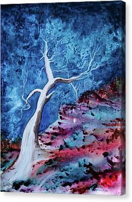 Bluegum Canvas Print