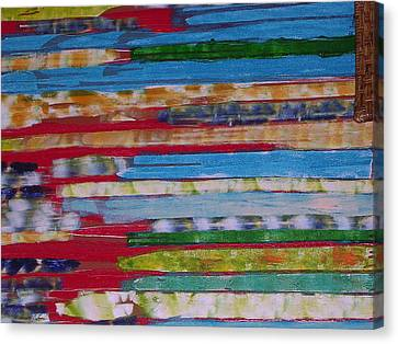 Blues In Transition Canvas Print by Russell Simmons