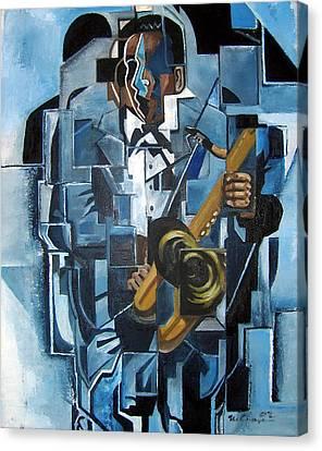 Canvas Print - Blues Trane by Martel Chapman