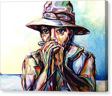 Blues Traveler  Canvas Print by Lloyd DeBerry