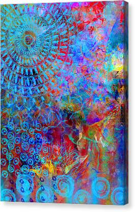 Blueshine Canvas Print