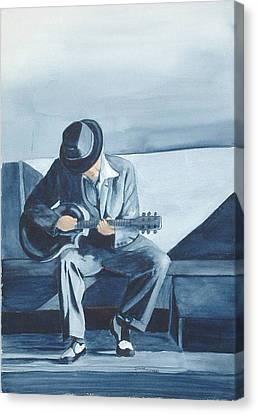 Bluesman Canvas Print