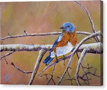 Bluey Canvas Print