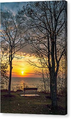 Bluff Bench Canvas Print