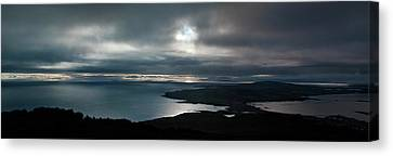 Canvas Print featuring the photograph Bluff Panorama by Odille Esmonde-Morgan