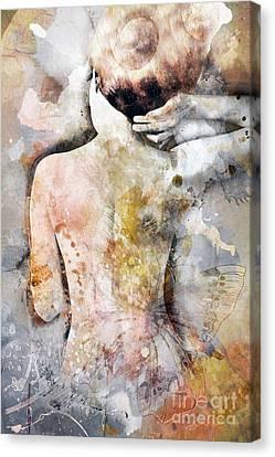 Blush Canvas Print by Jacky Gerritsen