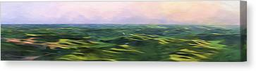 Blushing Sky II Canvas Print by Jon Glaser