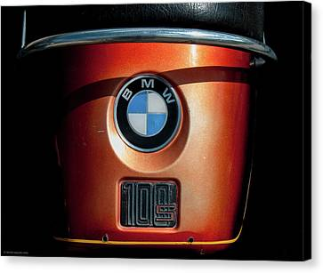 Canvas Print featuring the photograph Bmw 100 S by Britt Runyon