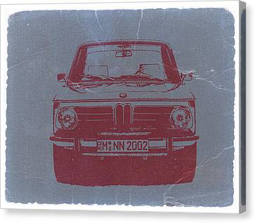 Bmw 2002 Canvas Print by Naxart Studio