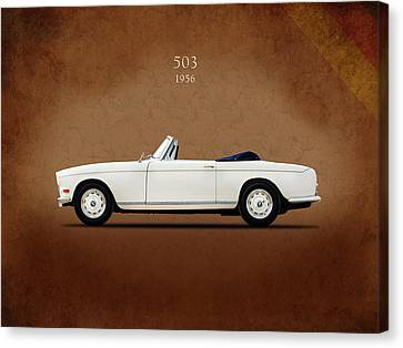 Bmw 503 1956 Canvas Print by Mark Rogan
