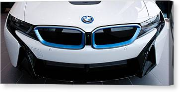 Canvas Print featuring the photograph Bmw E Drive I8 by Aaron Berg