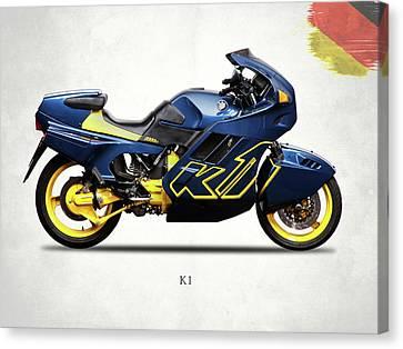 Bmw K1 Canvas Print by Mark Rogan