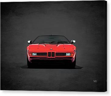 Bmw M1 1979 Canvas Print by Mark Rogan