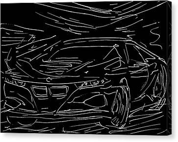 2008 Bmw M1 Concept Canvas Print by Jason Williams