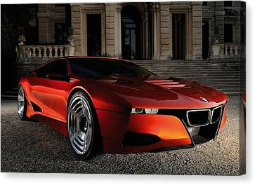 Bmw M1 Homage Concept 2  Canvas Print by F S