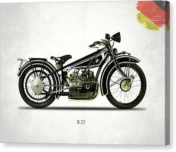 Bmw Canvas Print - Bmw R32 1923 by Mark Rogan