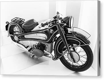 Bmw R7 1934 Prototype Canvas Print by Pablo Lopez