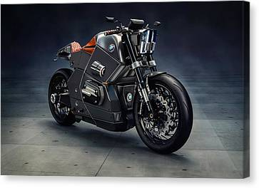Bmw Urban Racer Concept Canvas Print by F S