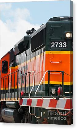 Bnsf 2733 Canvas Print by Noel Zia Lee