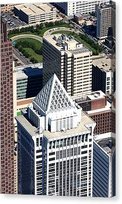 Bny Mellon Center 1735 Market Street Philadelphia Pa 19103 2998 Canvas Print by Duncan Pearson