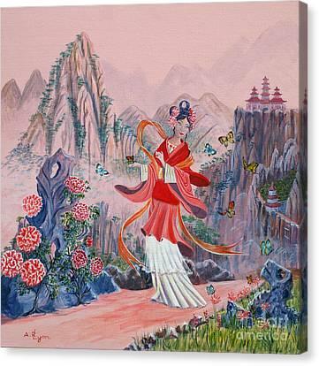 Bo Chaa Canvas Print by Anthony Lyon