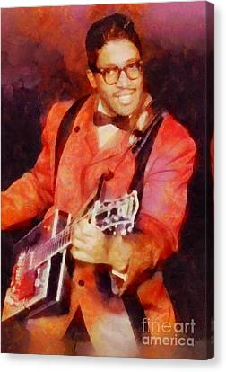 Bo Diddley, Music Legend Canvas Print