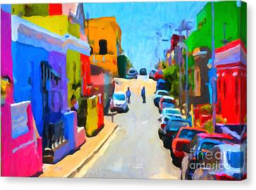 Bo-kaap Canvas Print by Chris Armytage