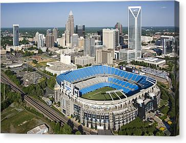 Boa Stadium In Charlotte Canvas Print by Clear Sky Images