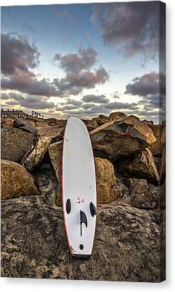 Board 54 Where Are You Canvas Print by Peter Tellone