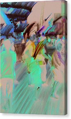 Boardwalk Buzz Canvas Print by Paul Autodore