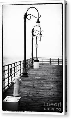 Boardwalk Corner Canvas Print