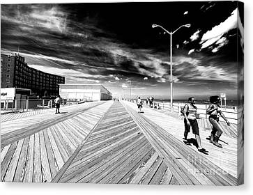 Canvas Print - Boardwalk Daze by John Rizzuto