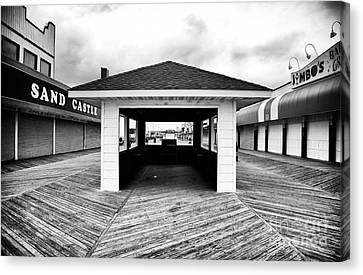 Boardwalk Dimensions Canvas Print