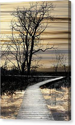 Boardwalk Canvas Print