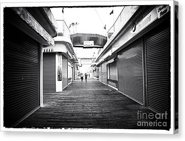 Boardwalk Joggers Canvas Print