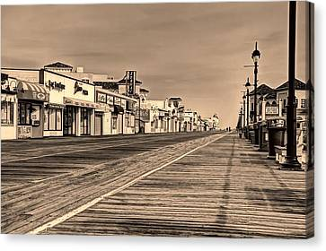 Boardwalk Canvas Print by John Loreaux