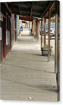 Canvas Print featuring the photograph Boardwalk by Lynn Bawden